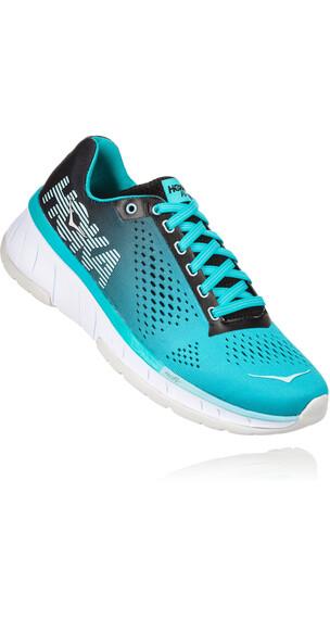 Hoka One One Cavu Running Shoes Women black/bluebird